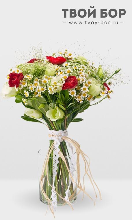 Цветы г бор, свадебные букеты цветы