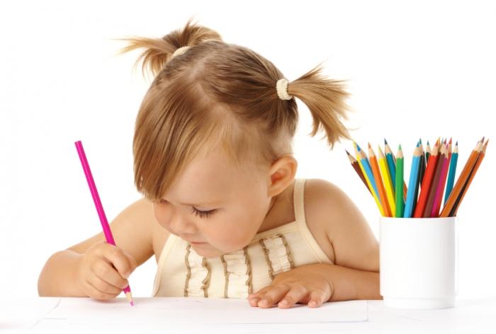 Во сколько ребенок рисует